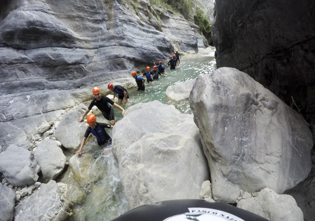 Canyoning nelle Gole del Raganello